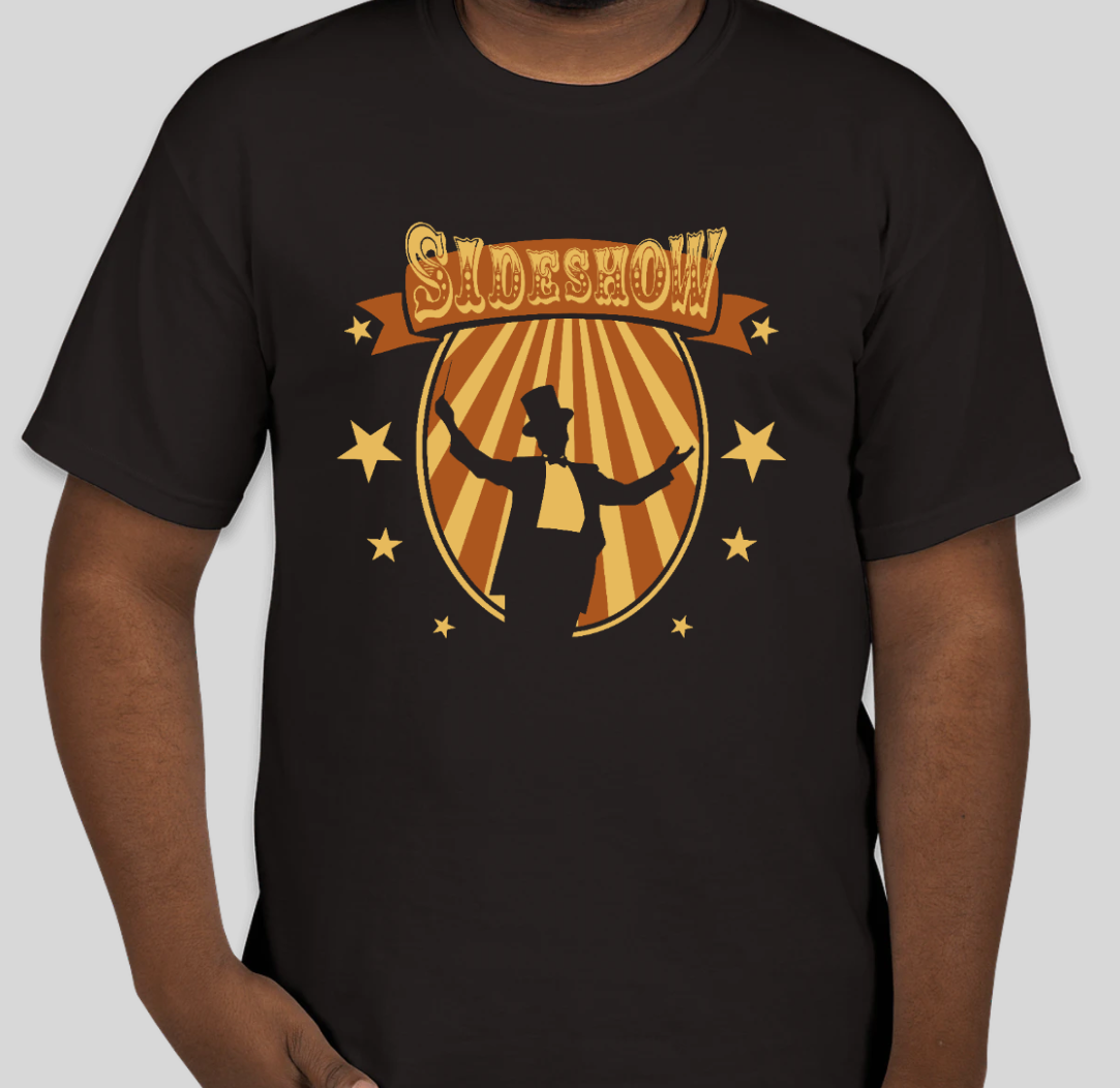 """Marching Band T-Shirt - 2021 Show """"Sideshow"""""""